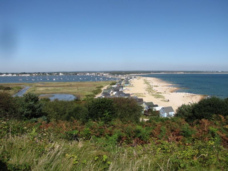 Hengistbury Head by Di Pettet