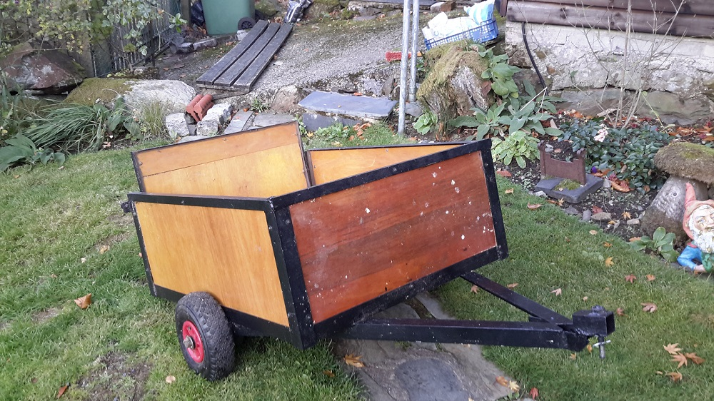 *Scooter-Pulled Trailer For Sale
