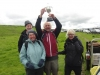 \'Team Higgy\' receive the Wenman Trophy